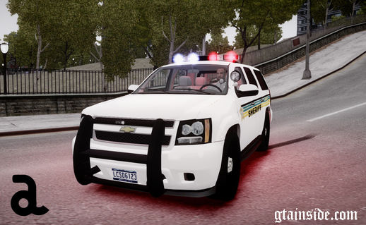 2012 Chevrolet Tahoe - Liberty City Sheriff