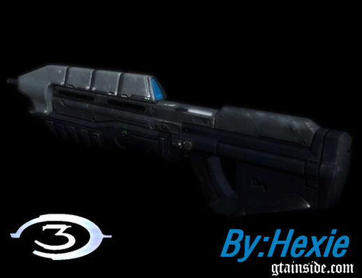 Halo 3 MA5C Rifle