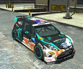Ford Fiesta RS WRC Gymkhana (DiRT3)