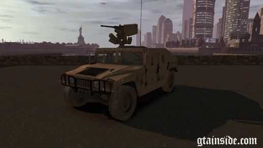 M1151 HMMWV Up Armored Humvee with working MG