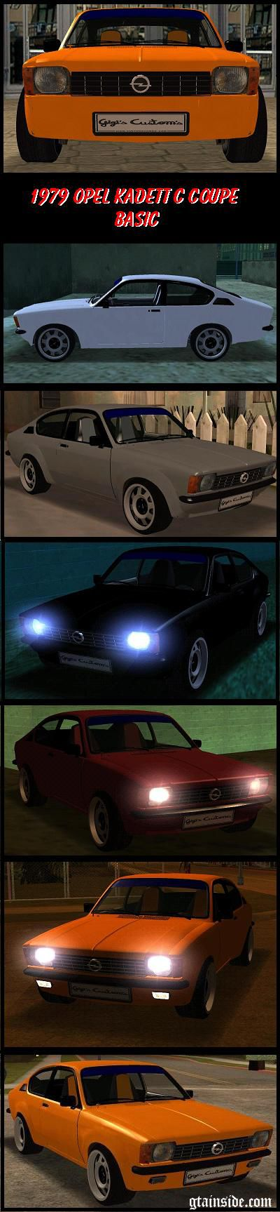Opel Kadett C Coupe - Basic