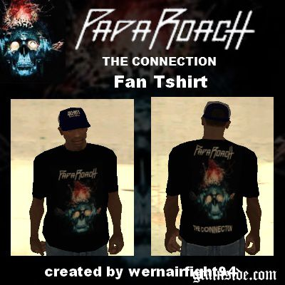 Papa Roach The Connection Fan Tshirt