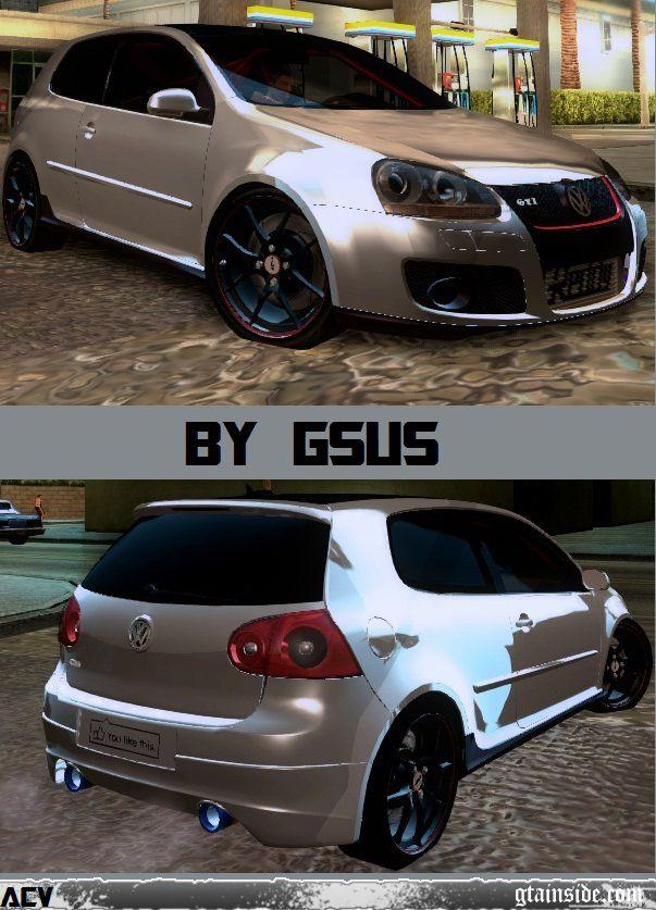 GTA San Andreas Volkswagen Golf GTI MK5 Mod - GTAinside.com