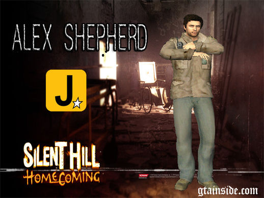 Alex Shepherd Silent Hill Homecoming