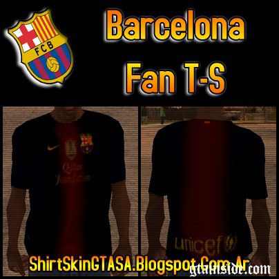 Barcelona Fan T-Shirt