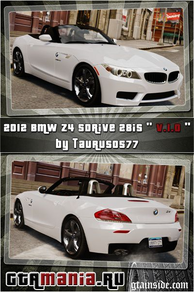 BMW Z4 sDrive 28is 2012 v1.0