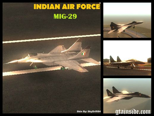 Indian Airforce Mig-29