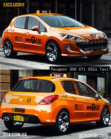 Peugeot 308 GTi 2011 Taxi 1.1