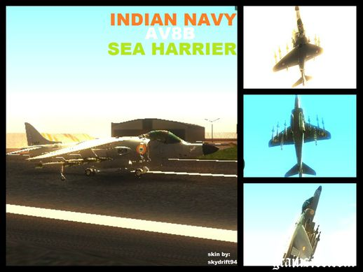 Indian Navy Sea Harrier