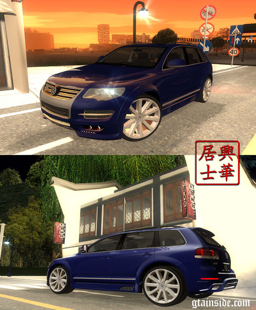 2008 VW Touareg R50 JE Design Tuning