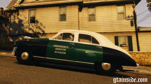 1948 Packard Police