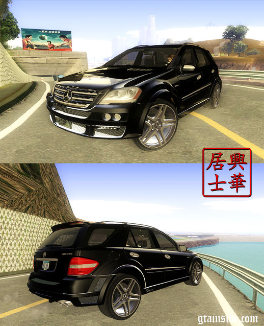 2009 Mercedes-Benz ML63 AMG Brabus