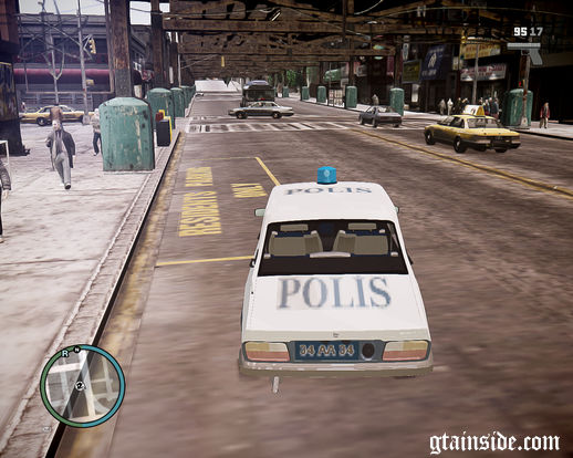 Renault 12 Police