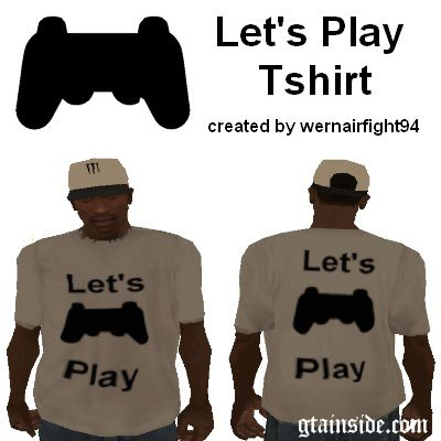 Lets Play Tshirt