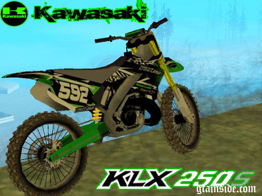 Kawasaki KLX 250S - Race Edition