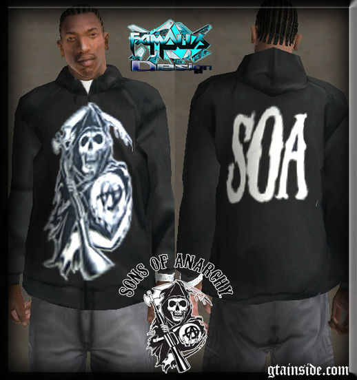 Sons of Anarchy (SOA) Jacket