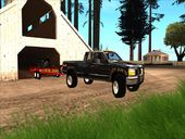 1998 GMC Sierra with Trailer