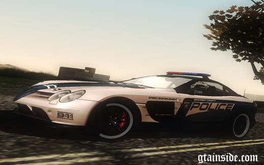 SCPD Mercedes-Benz SLR 722 Edition
