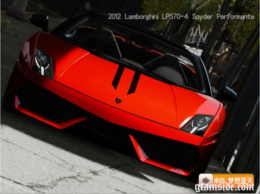 2012 Lamborghini Gallardo LP570-4 Spyder Performante
