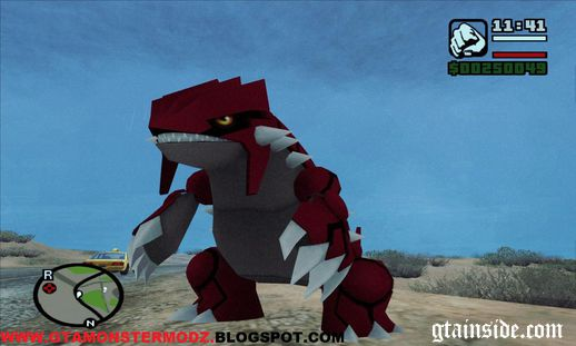 Groudon Pokemon
