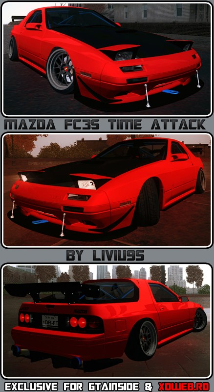Mazda FC3S Time Attack