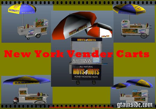 New York Vender Carts