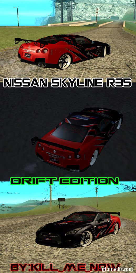 Nissan Skyline R35 Drift Tune