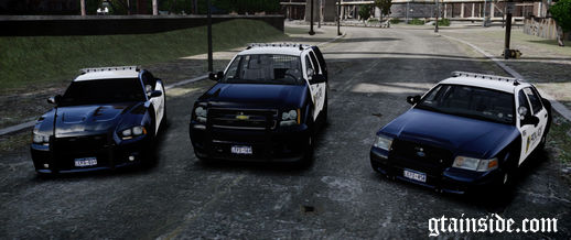 Liberty City Police Department Pack - Charger, CVPI & Tahoe (ELS)