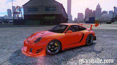 Porsche 997 GT2 Body Kit 2 NFS SHIFT 2