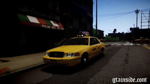2004 Ford Crown Victoria NYC Taxi