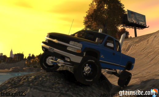 2000 Chevrolet Silverado 2500 Lifted Edition