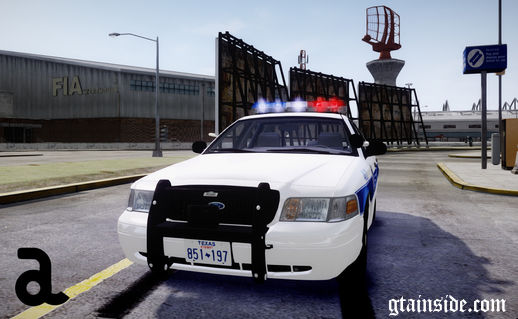 2008 Ford Crown Victoria Police Interceptor - Dallas Police Department