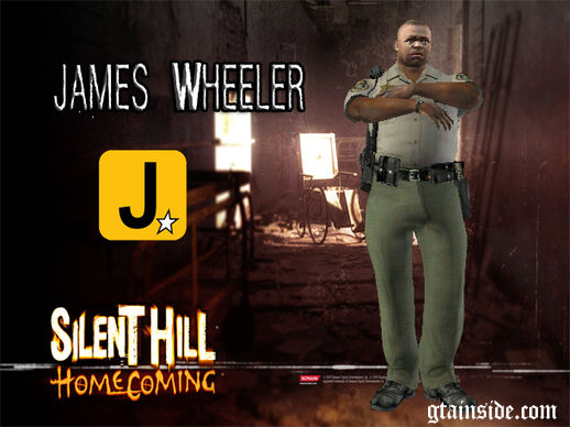 James Wheeler Silent Hill Homecoming