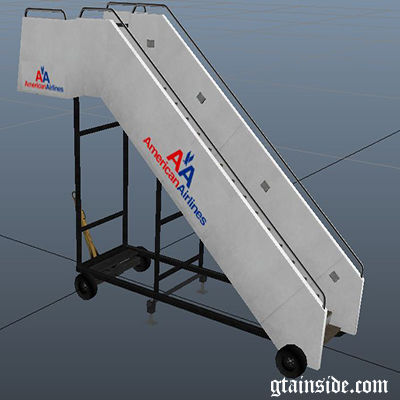 Airport Cargoboxes and Stairs