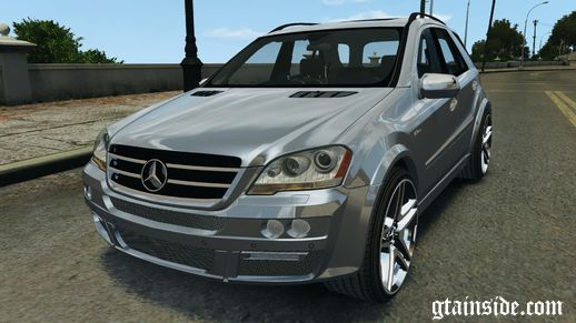 Mercedes-Benz ML63 AMG Brabus