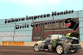 Subaru Impreza Monster Drift Gymkhana