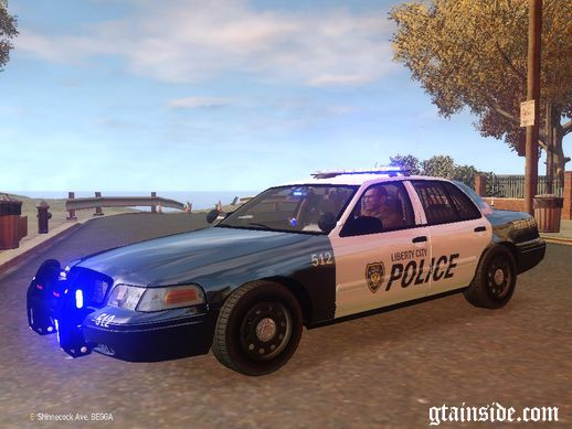 LCPD Police Ford Crown Victoria