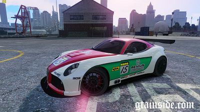 Alfa Romeo 8c Body Kit 1 NFS SHIFT 2