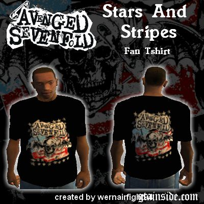 A7X Stars And Stripes T-Shirt