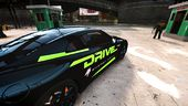 Nissan GT-R Black Edition - Drive Energy Drink Paintjob