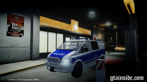 Mercedes Benz Vito German Police [ELS]