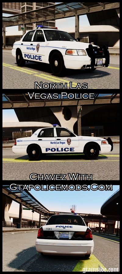 [CM2] Ford Crown Victoria North Las Vegas Police