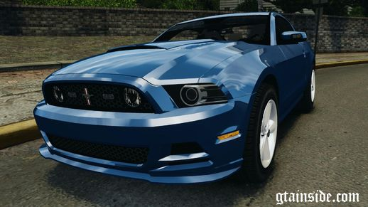 Ford Mustang 2013 Police Edition ELS