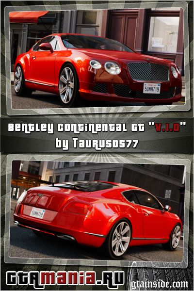 Bentley Continental GT 2011 [EPM] v1.0