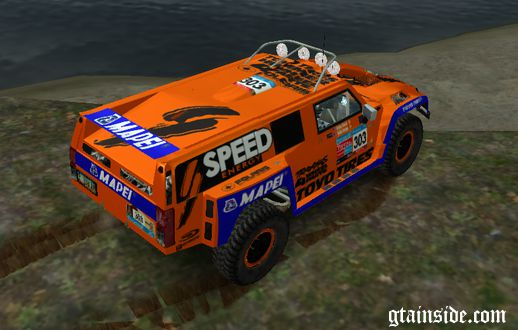 Hummer Robby Gordon DAKAR 2013 Paintjob official
