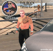 The Rock Tattoo for Brucie