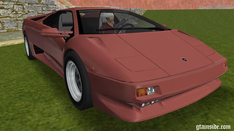 GTA 3 Lamborghini Diablo VTTT Black Revel Mod , GTAinside.com