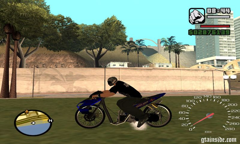 mod motor drag indonesia gta sa android