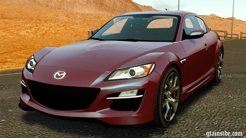 gta 4 mazda rx 8 r3 2011 mod. Black Bedroom Furniture Sets. Home Design Ideas