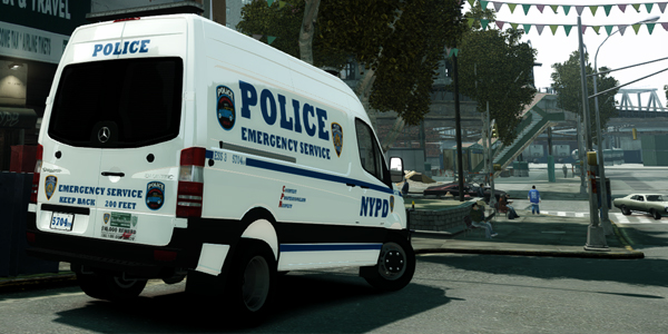 Gtainside gta mods addons cars maps skins and more for Mercedes benz emergency service